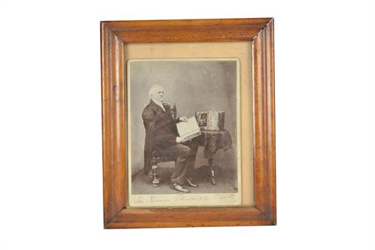 A Smith, Beck & Beck mahogany and brass Mirror Stereoscope