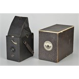 An Ihagee Exakta Plan-Paff-Reflex Camera, 6.5x9cm, with Meyer-Görlitz Trioplan f/6.8 105mm lens,