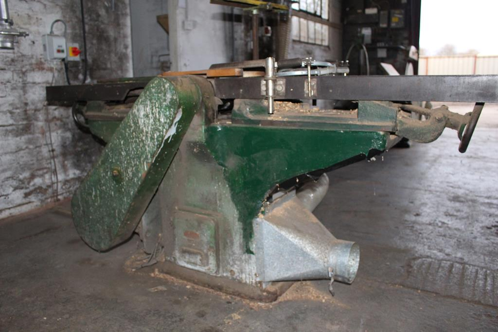 Lot 62 - * Smith Planer/Thicknesser A Smith 3 phase Planer/Thicknesser. Please note this lot is located at