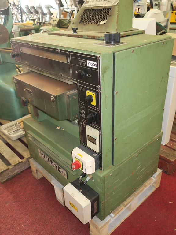 Lot 10 - * A Guiliet 500mm Wide Thickneser S/N C0002V1291 3PH YOM 1990. Please note there is a £10 Plus VAT