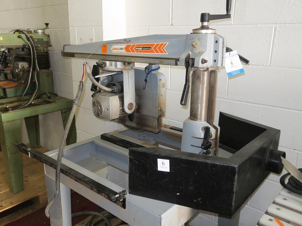 Lot 6 - * Maggi Junior 640 Cross Cut CE YOM 2000 S/N 54311203. Please note there is a £10 Plus VAT Lift