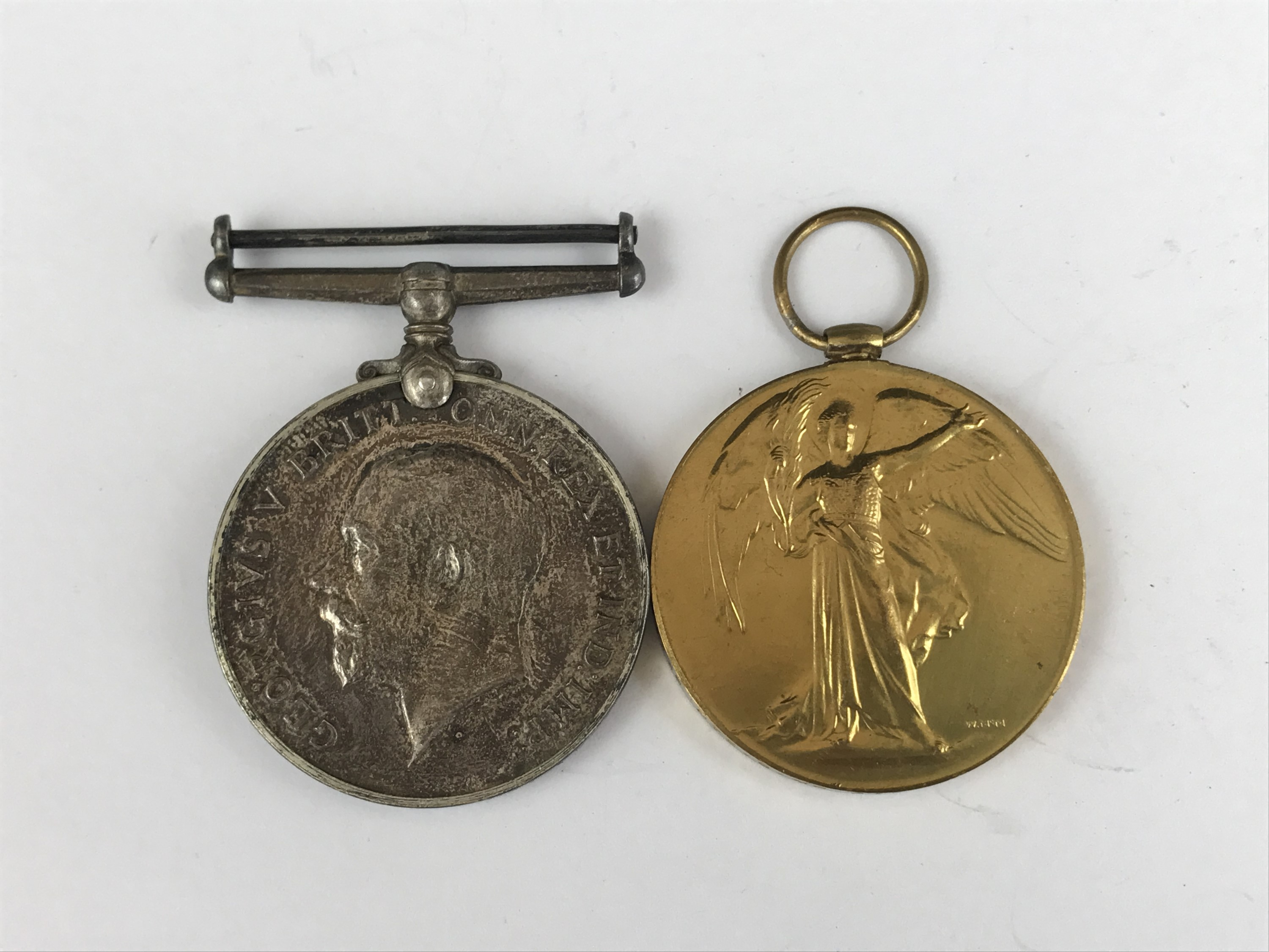 Lot 39 - A British War and Victory medal to 19839 Pte G McCardle, Seaforths