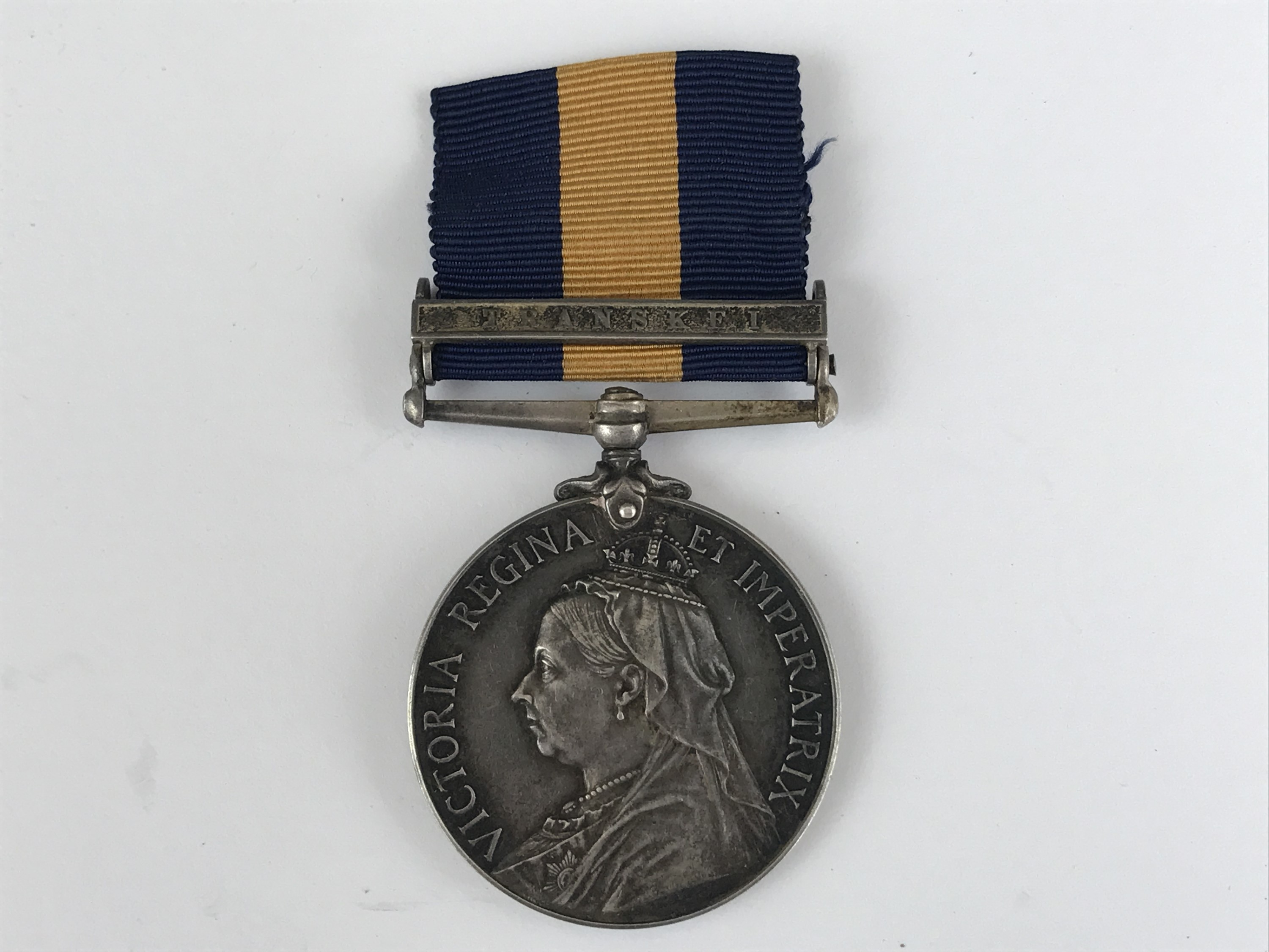 Lot 27 - A Cape of Good Hope General Service Medal with Transkei clasp to Pte R S Scott, Websters Rovs