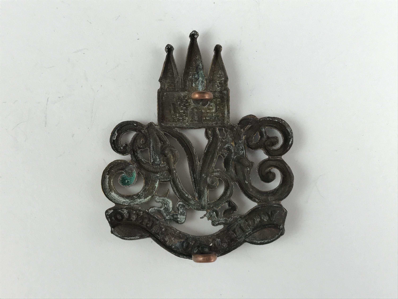 Lot 57 - A Victorian Fifeshire Volunteer Artillery cap badge