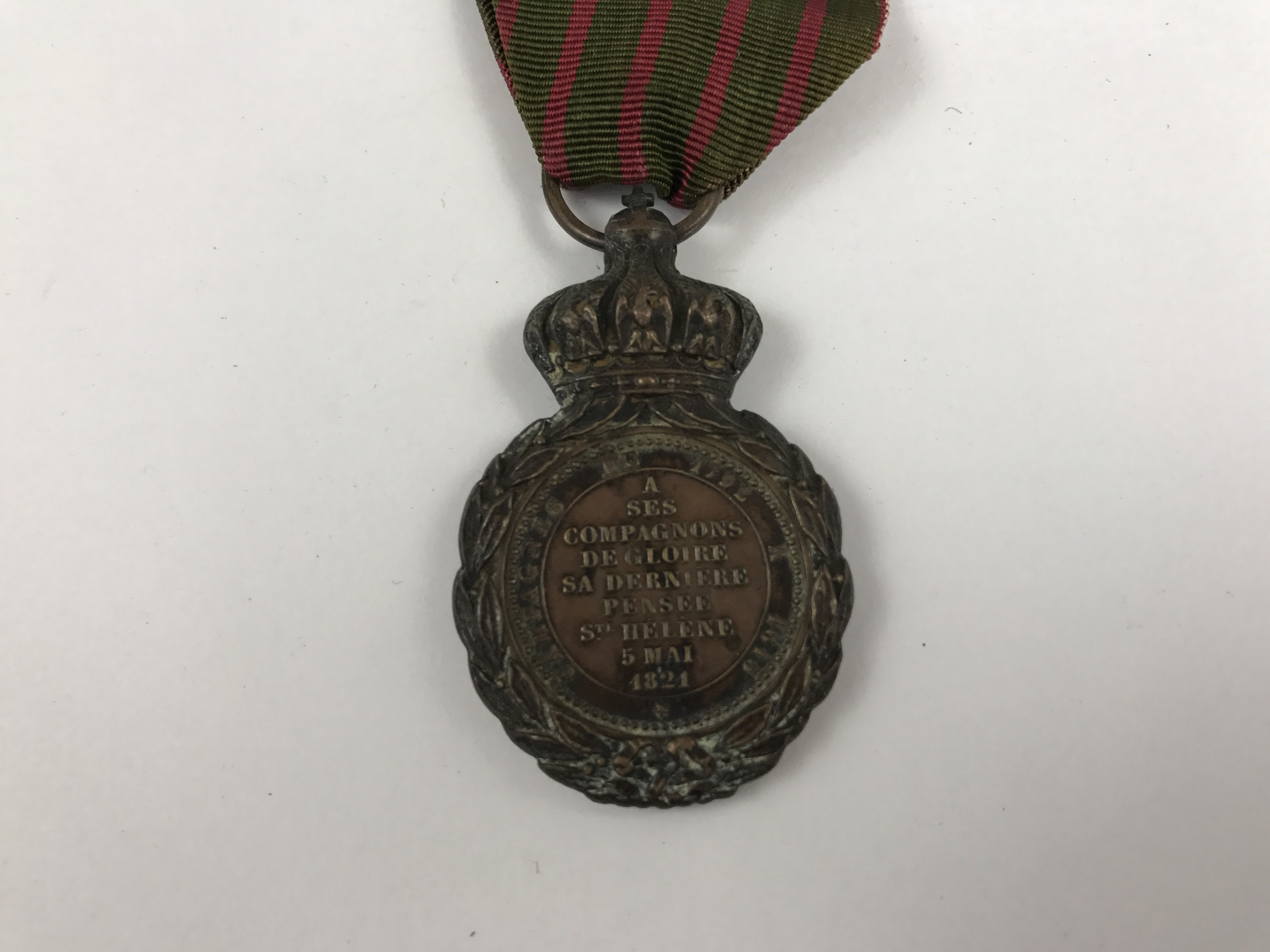 Lot 4 - A French St Helena Medal
