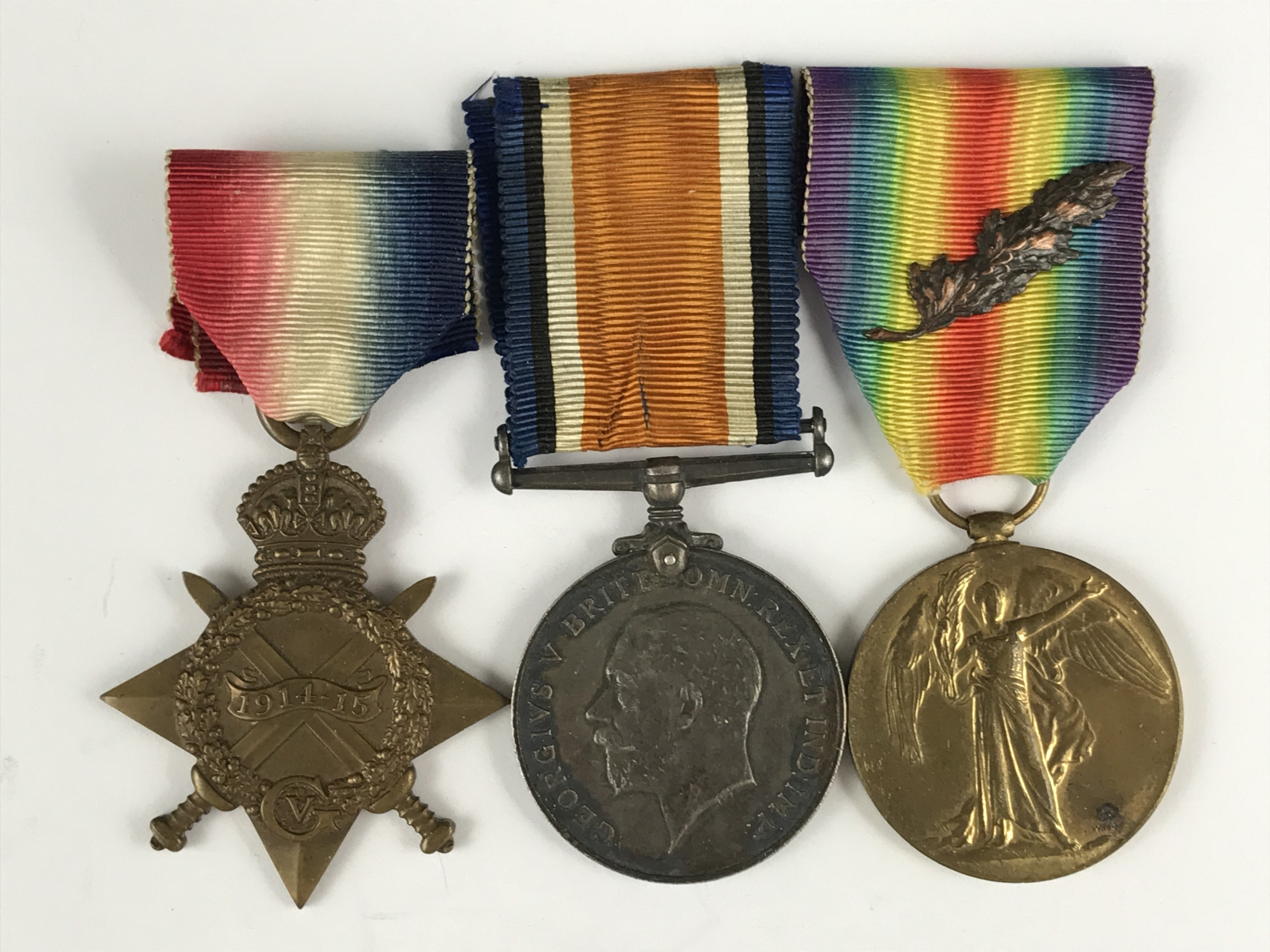 Lot 13 - 1914-15 Star, British War and Victory medals to Lieutenant - Major Hardy-Syms, Royal Engineers