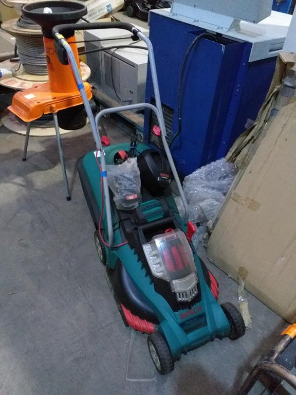 Lot 210 - A Bosch Rotak Battery Powered Mower