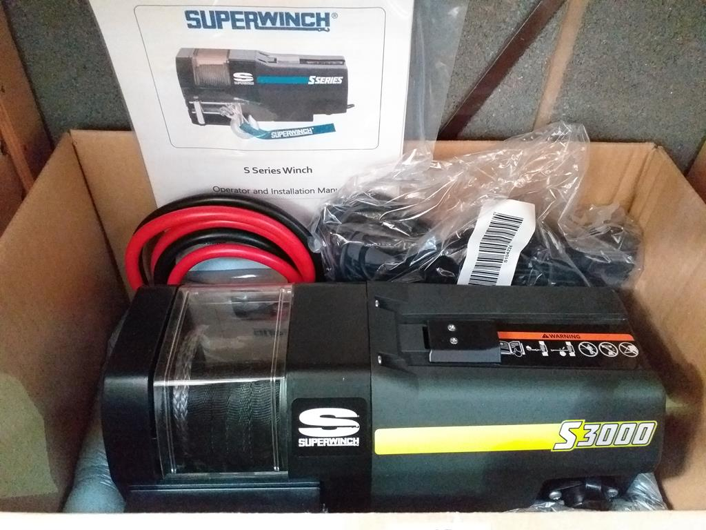 Lot 544 - A Superwinch Winch