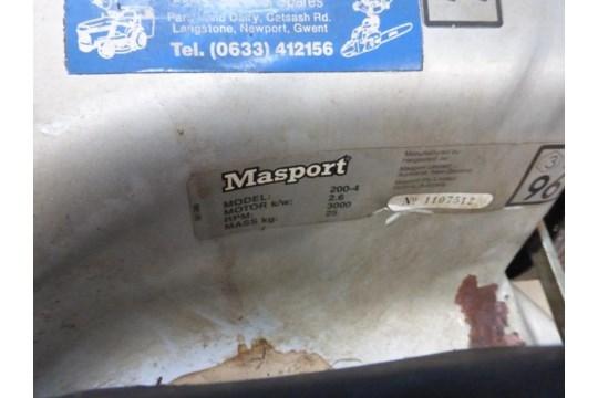 Lot 165 - Masport 200/4 Petrol Driven Rotary Mower