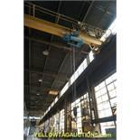 Gaffey 7-1/2 Ton Overhead Bridge Crane | Serial No. 6324-CC; Radio Controlled