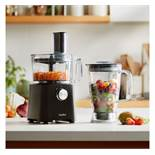 (HZ27) 750W Food Processor Chop, mix, shred, slice, juice, grate, make dough or liquidise ingr...
