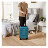 (HZ5) Teal Cabin Bag Fits most budget airlines baggage restrictions including Ryanair, EasyJet...