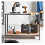 (HZ35) Boltless Workbench and Storage Unit Max load: 500kg - (250kg per shelf)> Size: 90cm (he...