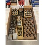 Lot of Assorted Letter and Number Punches