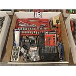 Lot of Assorted Sockets, Rachets and Wrenches