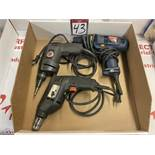 Lot of Assorted Electric Drills