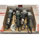"""Lot of (4) METABO 4"""" Angle Grinders"""