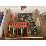 Lot of Assorted Allen Wrenches and Nut Drivers