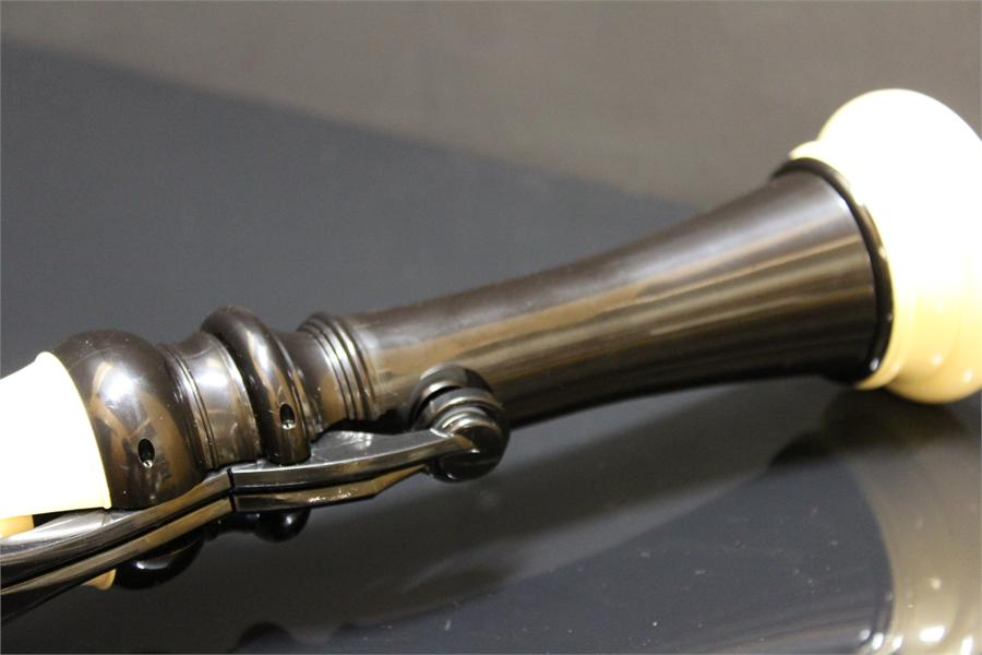 Lot 51 - Hornby bass 900 Recorder in case, approximately 2 years old.