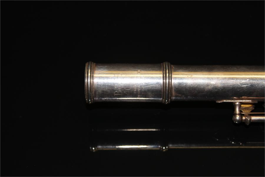 Lot 52 - A Boosey and Hawkes in the USA 400 Flute in case.