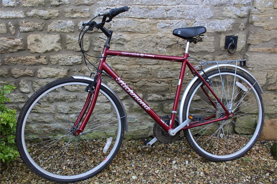 Lot 45 - A Gentlemans Touring bicycle Richmond Optima Trekking.