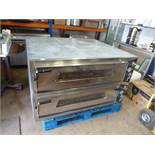 GGM Gastro Double Pizza Oven (No Stones)