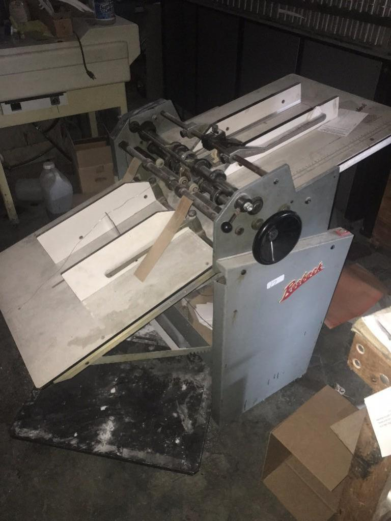 Lot 17 - ROSBACK PERFORATOR