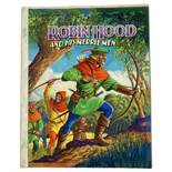 Robin Hood and His Merrie Men original front cover artwork for the book by Dean & Sons (1965).