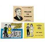 Dudley Watkins evangelical picture books: The Adventures of William the Warrior (1960), Tony and