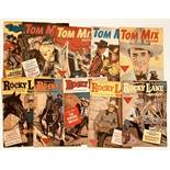 Tom Mix Western (1950s L. Miller) 54-56, 58, 60. With Rocky Lane 53, 56-59. #60, 57, 59 [fn-],