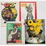 Oz Magazine (1969) 18, 19, 20, 22. No 18: Robert Crumb cover, Andy Warhol interview [fn], No 19: