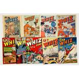 Whiz Comics (1940s-50s L Miller) 60, 63, n.n., 72, 103, 104, 113, 115, 130. The first four are pilot