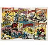 Blackhawk 1-10 (1950s Strato 68 pg square bound). Blackhawk, Wonder Woman, T-Man and Plastic Man U.