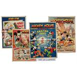 Mickey Mouse Weekly (1940-49). 1940: Nos 205-225 (Jan 6 - May 25 complete including 2 doubles), 240,