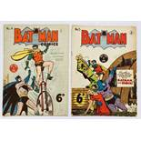 Batman 4, 5 (1950 K.G. Murray Oz reprints) [vg/vg-] (2)