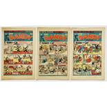 Dandy (1948) 366, 374, 384. 366: scarce April Fool and Easter editions combined [vg+], 374 [vg+],