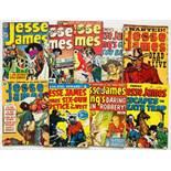 Jesse James 1-9 (1950. Thorpe & Porter UK reprints). All with covers of the U.S. Avon originals.