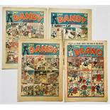 Dandy (1940) 149, 151, 161. With Beano 137 (1941). Propaganda war issues. With Desperate Dan,