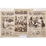 Ally Sloper's Half-Holiday (1891-92). 1891 comprises 41 issues between Nos 349-400 including Ally