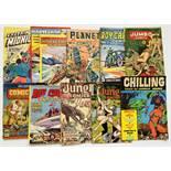 L Miller/R & L Locker/Australian reprints (1950s). Captain Midnight 9, Jumbo 25, Jungle 34, n.n.,