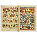 Magic Comic 36 (1940) (The only) Easter Fun Number. Rare - less than 10 copies known to exist. 2 x 1