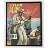 Sexton Blake/The Crime at the Fair original cover artwork by Eric Parker for Sexton Blake Library No