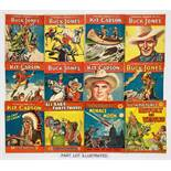 Cowboy Comics (Picture Library Am. Press 1950s) 65-78, 117. With Thriller Comics (Picture Library) 7