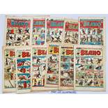 Beano (1950) 390-419, 422-428, 430, 433, 436, 439, 440 Xmas [gd]. With 488 (1951), 699 (1955) and