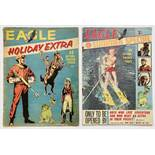 Eagle Holiday Extra (1962). Starring Dan Dare in 15 illustrated pages of Operation Triceratops and