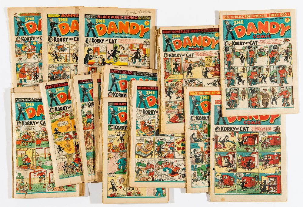 Lot 30 - Dandy (1945-51) 304, 322, 323, 336, 338, 339, 360-423 (1948 and 1949 complete years), 480, 481, 493,
