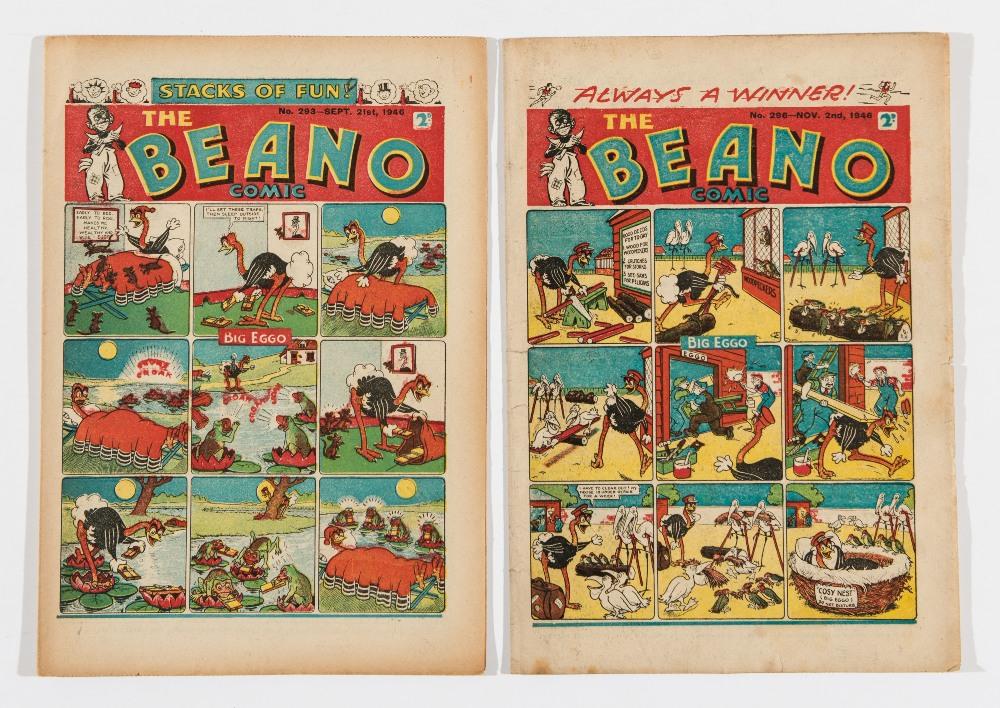 Lot 57 - Beano (1946) 293 [vg], 296 [fn] (2)