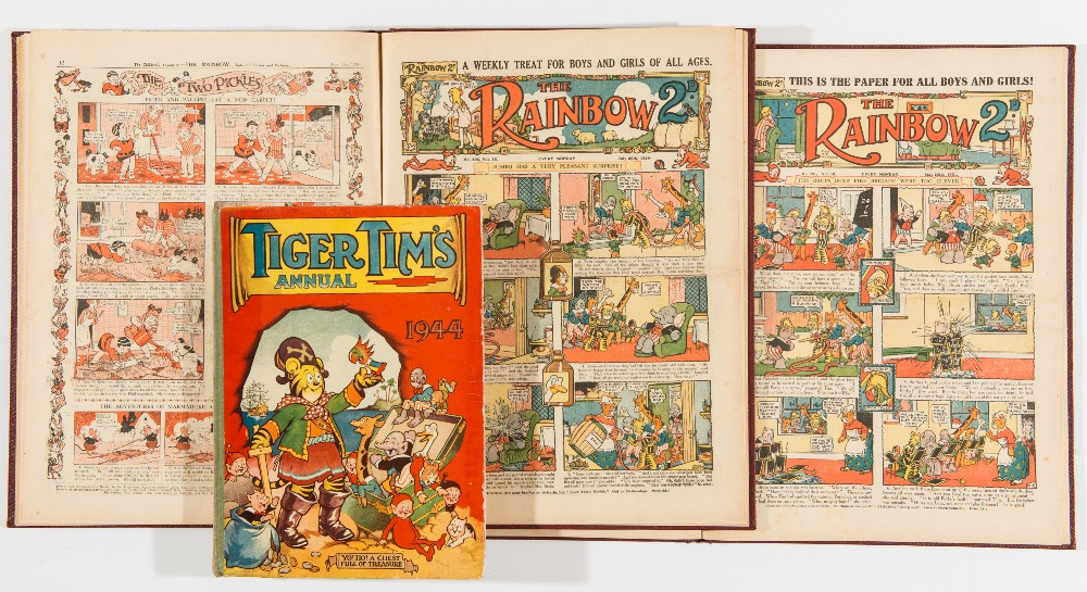 Lot 4 - Rainbow (1929) April-Aug 791-807. With (1931) April-June 894-904. 28 issues. All in two bound