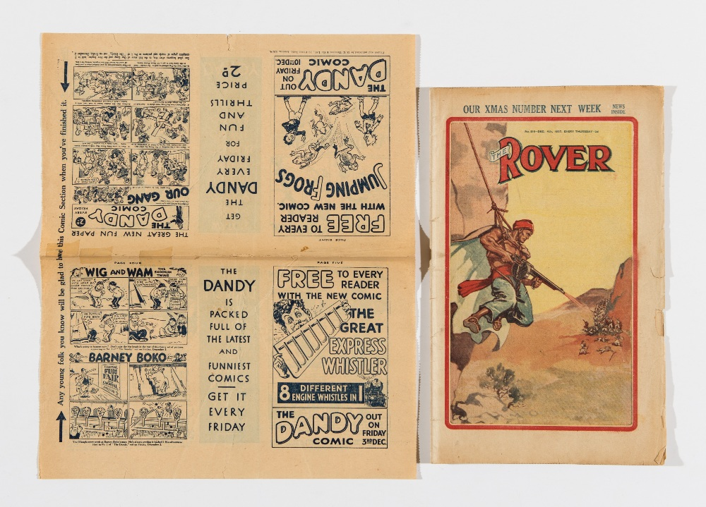 Lot 9 - Dandy Comics 1 & 2 Flyer (Type 1) 1937. An 8 page mini comic in its own right with Korky, Keyhole