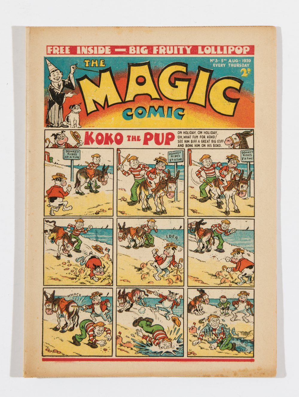 Lot 35 - Magic No 3 (1939). Starring Koko The Pup, Peter Piper, The Tickler Twins and Sooty Snowball.